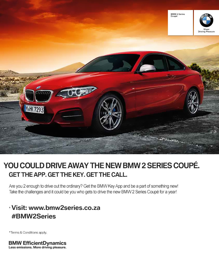 Bmw Z7: WIN YOUR SPOT IN THE BMW 2 SERIES COMPETITION